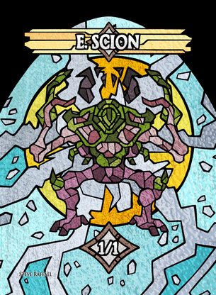 E.Scion 2 Token for MTG (SRA)