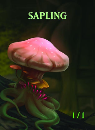 Sapling 2 Token for MTG(ISH)