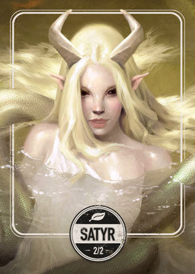 Satyr token for MTG (Clint Cearley)