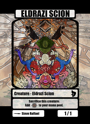 Eldrazi Scion Token for MTG (SRA) Token Stephen Raffael - Cardamajigs