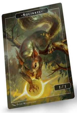 Squirrel Token for MTG (Peter Mohrbacher)