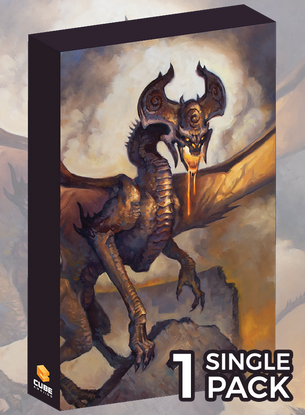 Dark Dragon Cubeamajigs by Tom Babbey (Single Pack)