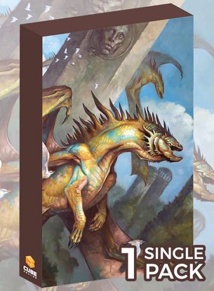 Dragon Prowl Cubeamajigs by Tom Babbey (Single Pack)