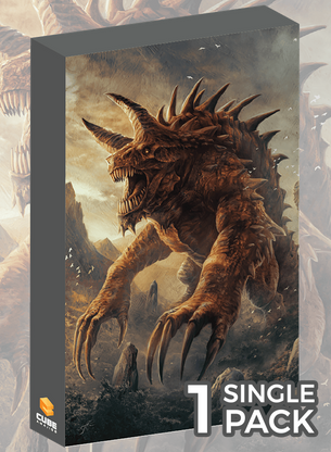 Tarrasque Cubeamajigs by Jason Engle (Single Pack)