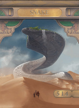 Snake 2 Token for MTG (ISH)