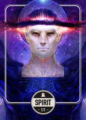 Spirit 2 token for MTG (Clint Cearley)