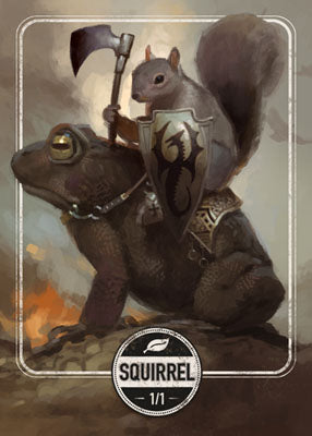 Squirrel token for MTG (Clint Cearley)