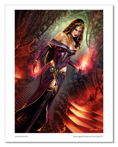 Liliana of the Veil - MTG Print (Steve Argyle)