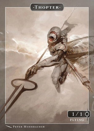 Thopter Token for MTG (Peter Mohrbacher)
