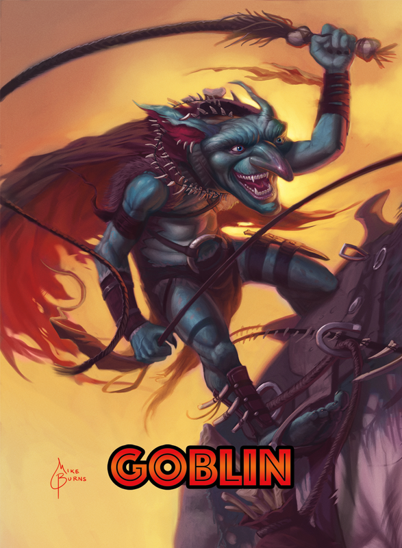 Goblin Token for MTG (Mike Burns)