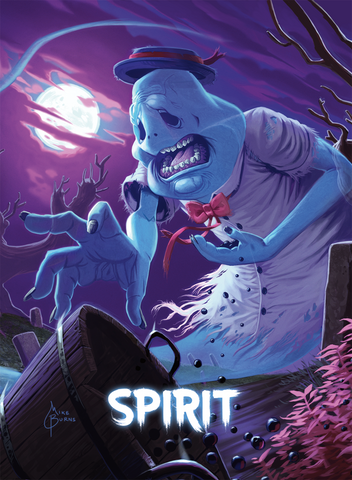Spirit Token for MTG (Mike Burns)