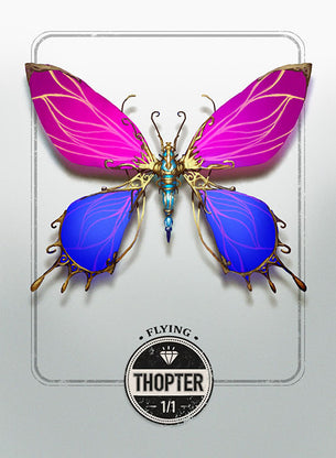 Thopter token for MTG (Clint Cearley)