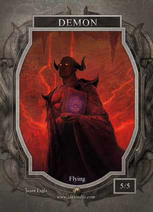 Demon Token for MTG (Jason Engle)