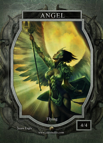 Angel 5 Token for MTG (Jason Engle)