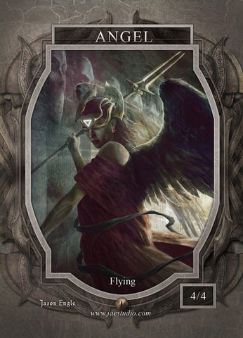 Angel 6 Token for MTG (Jason Engle)