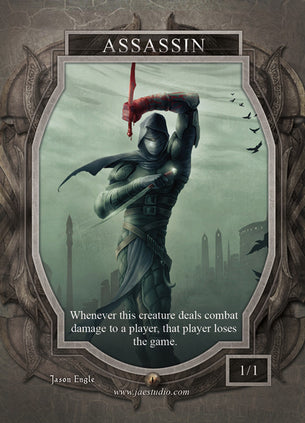 Assassin Token for MTG (Jason Engle)