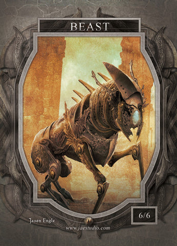 Beast Token for MTG (Jason Engle)