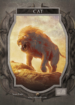 Cat 2 Token for MTG (Jason Engle)