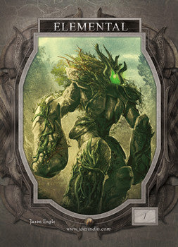 Elemental Green Token for MTG (Jason Engle)