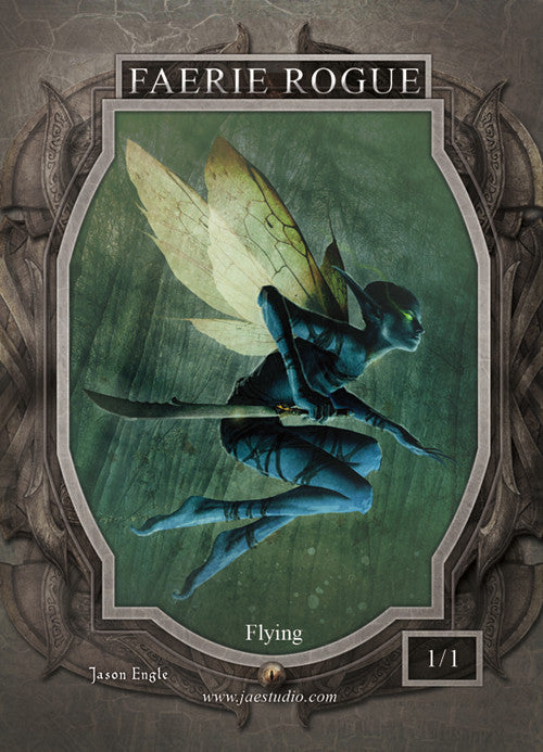 Faerie Rogue Token for MTG (Jason Engle) Token Jason Engle - Cardamajigs