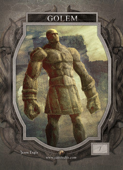 Golem Token for MTG (Jason Engle)