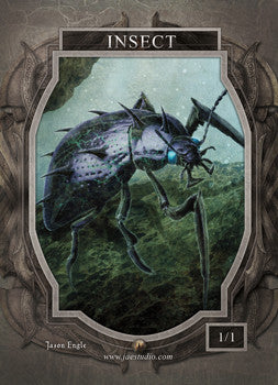 Insect 2 Token for MTG (Jason Engle)