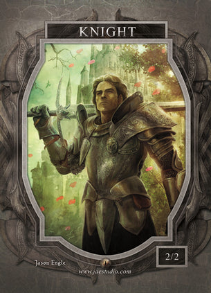 Knight Token for MTG (Jason Engle)