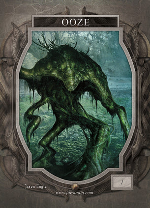 Ooze Token for MTG (Jason Engle)