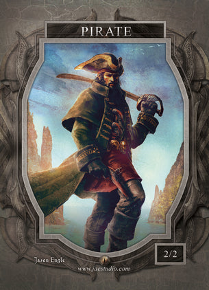 Pirate Token for MTG (Jason Engle)