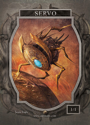 Servo Token for MTG (Jason Engle)