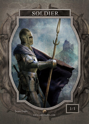 Soldier Token for MTG (Jason Engle)