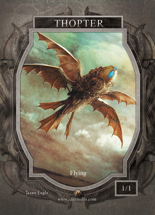 Thopter 2 Token for MTG (Jason Engle)