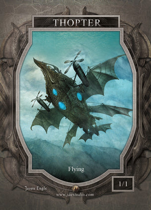 Thopter Token for MTG (Jason Engle)