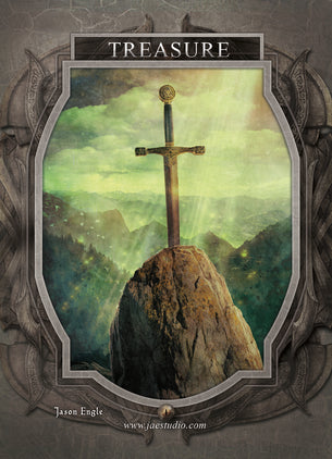 Treasure Token for MTG (Jason Engle)