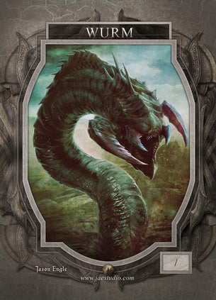 Wurm Token for MTG (Jason Engle)