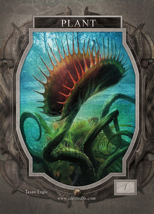 Plant Token for MTG (Jason Engle)