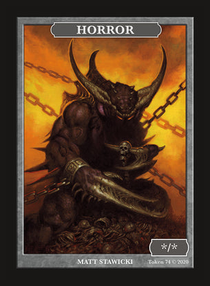Limited Edition Horror Token for MTG (by Matt Stawicki)