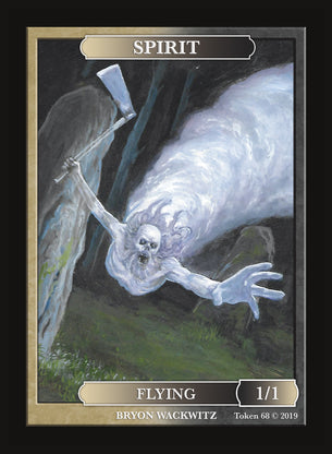 Spirit Token for MTG (by Bryon Wackwitz)