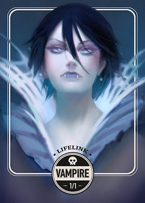 Vampire token for MTG (Clint Cearley) Token Clint Cearley - Cardamajigs
