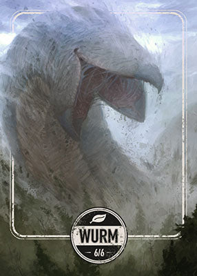 Wurm token for MTG (Clint Cearley)