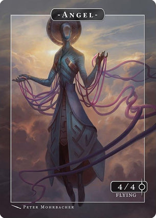 Angel Zachriel Token for MTG (Peter Mohrbacher)