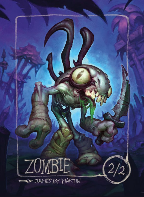 Zombie (Murloc) for MTG (James Loy Martin) Token James Loy Martin - Cardamajigs
