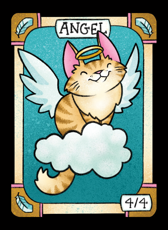 Angel for MTG (LAN) Token Leah Andersen - Cardamajigs