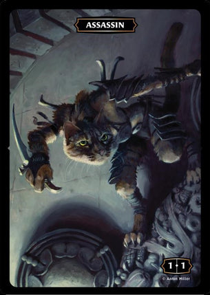 Assassin (Cat) Token (Aaron Miller)