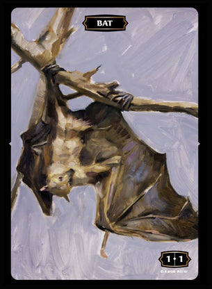 Bat (Flying Fox) Token (Aaron Miller)