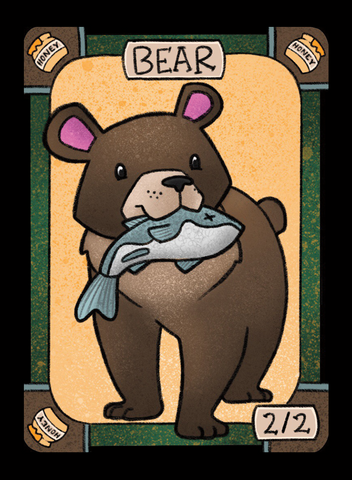 Bear for MTG (LAN)