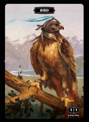 Bird (War Eagle) Token (Aaron Miller)
