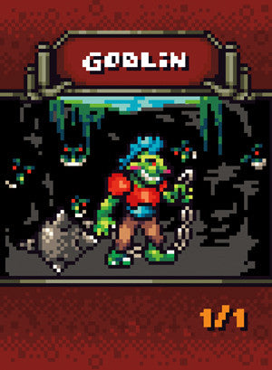 4x Goblin Tokens for MTG (RFR)