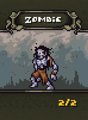 Zombie Token for MTG (BFR)