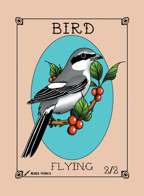 Bird Token for MTG (Mike Jones) Token Mike Jones - Cardamajigs
